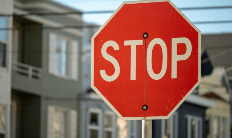 stop sign accidents statistics
